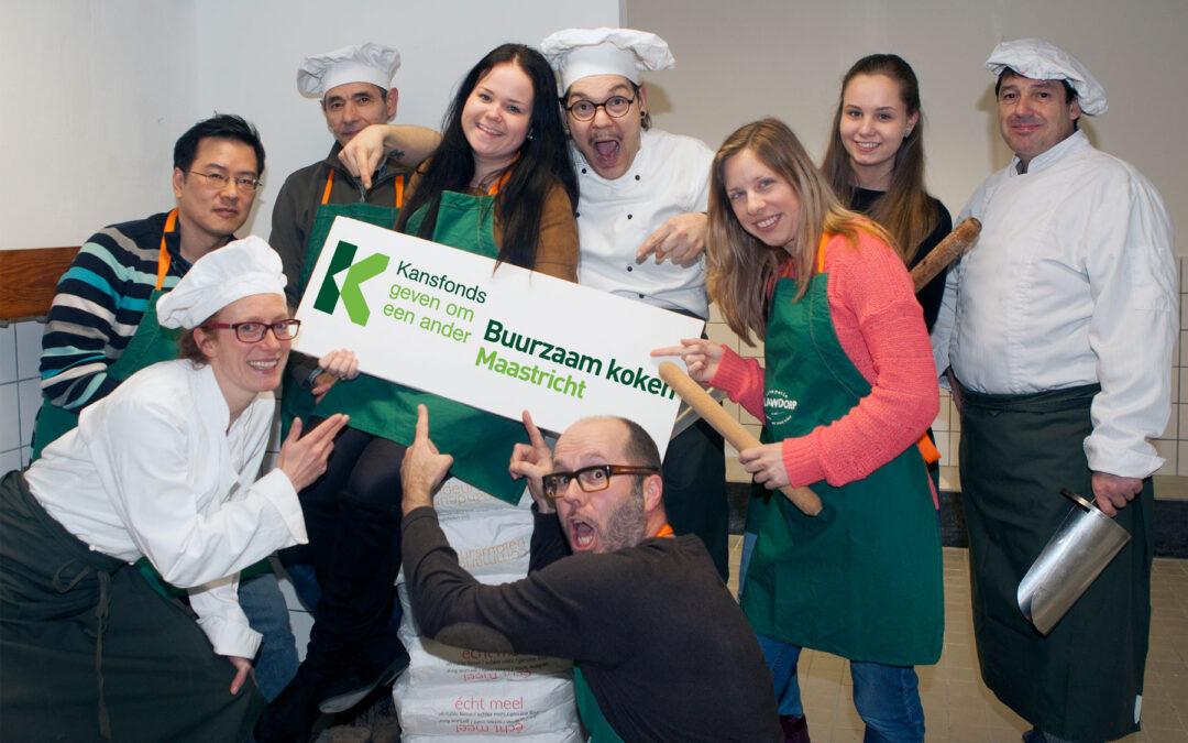 Kansfonds honoreert 'Buurzaam koken' met € 25.000!