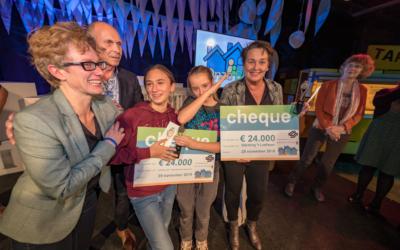 Buurzaam koken KIDS in de prijzen bij 'Onze Buurt'