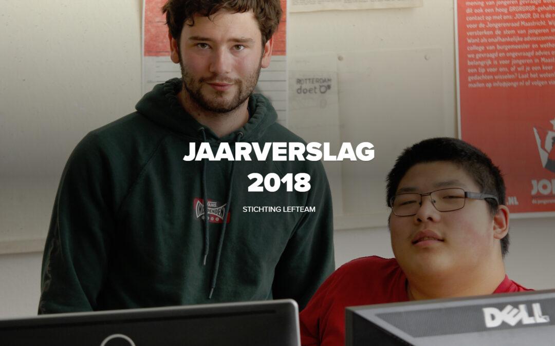 Jaarverslag 2018 klaar