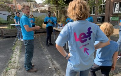 LEFteam en Serve the City samen op één adres