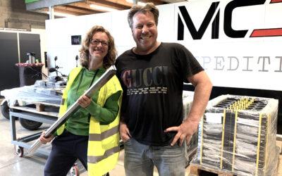 Metaalcenter Driessen helpt Stadsbakkerij LEF