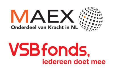 2.500 euro van MAEX én VSBfonds